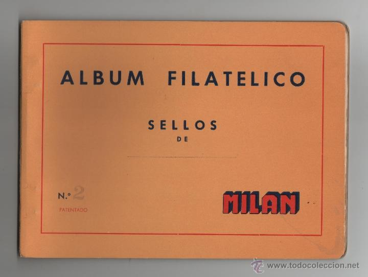ALBUM FILATELICO DE SELLOS MILAN Nº2 - SIN SELLOS. (Sellos - Material Filatélico - Álbumes de Sellos)