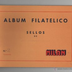 Sellos: ALBUM FILATELICO DE SELLOS MILAN Nº2 - SIN SELLOS.. Lote 51942063