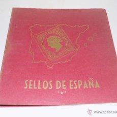 Sellos: ALBUM Y ESTUCHE PHILOS. SELLOS DE ESPAÑA. SIN SELLOS.. Lote 53738279