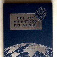 Sellos: SELLOS AUTENTICOS DEL MUNDO. ALBUM. AFINSA.-EL MUNDO.ENVIO INCLUIDO EN EL PRECIO.. Lote 53993492