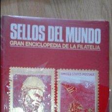 Sellos: SELLOS DEL MUNDO URBION- AÑOS 80 - ALBUM VACIO CON ANILLAS - AFRICA AMERICA. Lote 56183054