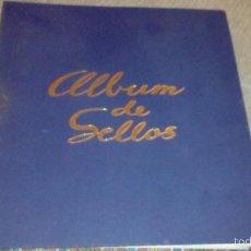 Sellos: ALBUM DE SELLOS DE ESPAÑA 1920 A 1970 (DE HOJAS FIJAS, NO ANILLAS). Lote 56401531