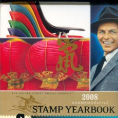 Sellos: 1269 STAMP YEARBOOK 2008 COMMEMORATIVE THE UNITED STATES POSTAL SERVICE USA SELLOS COLLINS. Lote 56688204