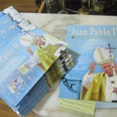 Sellos: ALBUM Y SELLLOS DE JUAN PABLO II. COLECCIONABLE ABC. DEL Nº1 AL 29.. Lote 57762880