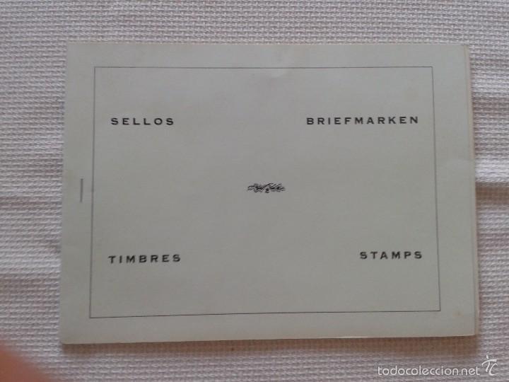 PRECIOSO Y ANTIGUO ÁLBUM DE SELLOS PORTUGUÉS ,POSIBLEMENTE AÑOS 60 O 70 (COMPLETO) (Sellos - Material Filatélico - Álbumes de Sellos)