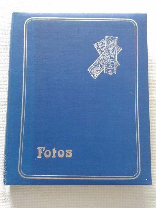 IMPRESIONANTE ÁLBUM DE SELLOS ANTIGUOS DE TODOS LOS PAÍSES ,MAS DE 400 SELLOS . (Sellos - Material Filatélico - Álbumes de Sellos)