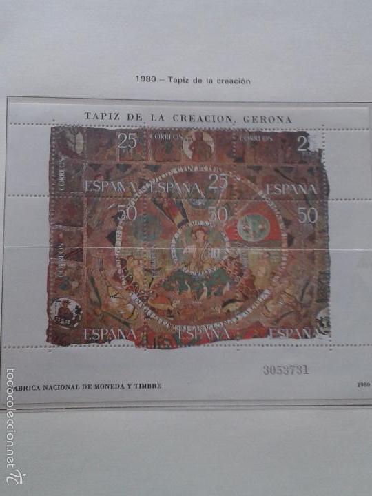 Sellos: ÁLBUM (COLOR ROJO) DE SELLOS DE ESPAÑA ANTIGUOS ,ALREDEDOR DE 150 SELLOS - Foto 7 - 58833161