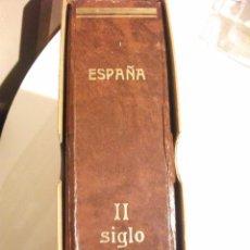 Sellos: ALBUM DE SELLOS VACIO - ESPAÑA II SIGLO DEL SELLO ESPAÑOL - CON SU FUNDA - DESDE 1970 A 1977. Lote 63607860