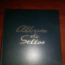Sellos: ALBUM SELLOS ESPAÑA. HOJAS CON FILOESTUCHE MONTADO DEL 2001 AL 2008.SIN SELLOS ,BUENA CONSERVACION. Lote 67117213