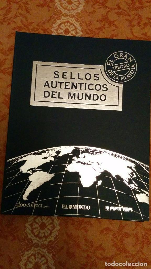 SELLOS AUTÉNTICOS DEL MUNDO (Sellos - Material Filatélico - Álbumes de Sellos)