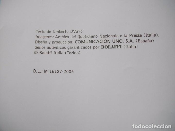 JUAN PABLO II, 26 AÑOS DE PONTIFICADO A TRAVES DE LOS SELLOS, ORO Y PLATA COMPLETO VER FOTOS (Sellos - Material Filatélico - Álbumes de Sellos)