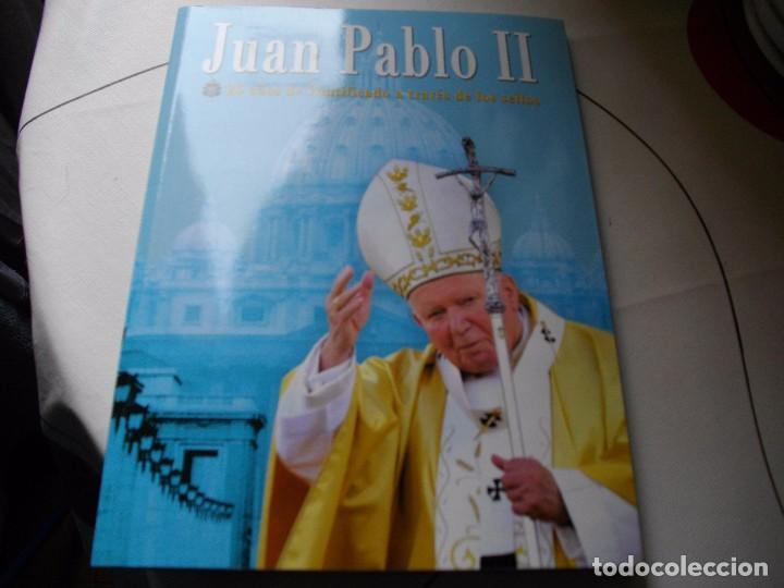 Sellos: JUAN PABLO II, 26 AÑOS DE PONTIFICADO A TRAVES DE LOS SELLOS, ORO Y PLATA COMPLETO VER FOTOS - Foto 2 - 81627684