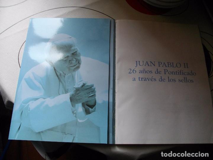 Sellos: JUAN PABLO II, 26 AÑOS DE PONTIFICADO A TRAVES DE LOS SELLOS, ORO Y PLATA COMPLETO VER FOTOS - Foto 4 - 81627684
