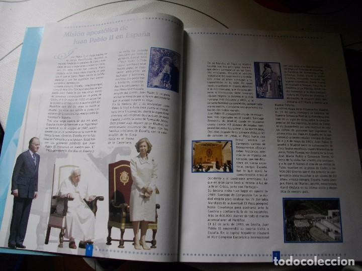 Sellos: JUAN PABLO II, 26 AÑOS DE PONTIFICADO A TRAVES DE LOS SELLOS, ORO Y PLATA COMPLETO VER FOTOS - Foto 6 - 81627684