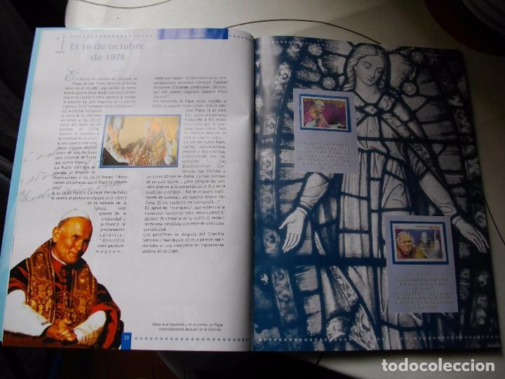 Sellos: JUAN PABLO II, 26 AÑOS DE PONTIFICADO A TRAVES DE LOS SELLOS, ORO Y PLATA COMPLETO VER FOTOS - Foto 9 - 81627684
