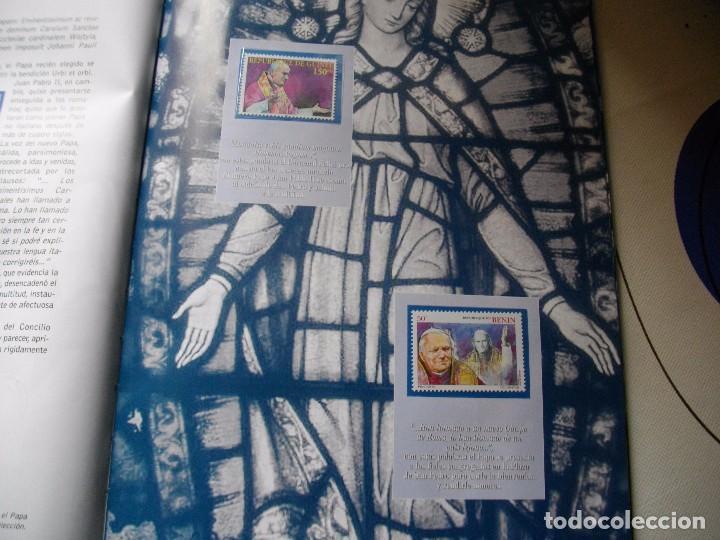 Sellos: JUAN PABLO II, 26 AÑOS DE PONTIFICADO A TRAVES DE LOS SELLOS, ORO Y PLATA COMPLETO VER FOTOS - Foto 10 - 81627684