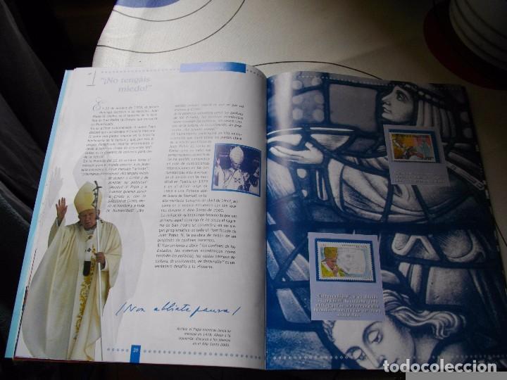 Sellos: JUAN PABLO II, 26 AÑOS DE PONTIFICADO A TRAVES DE LOS SELLOS, ORO Y PLATA COMPLETO VER FOTOS - Foto 15 - 81627684