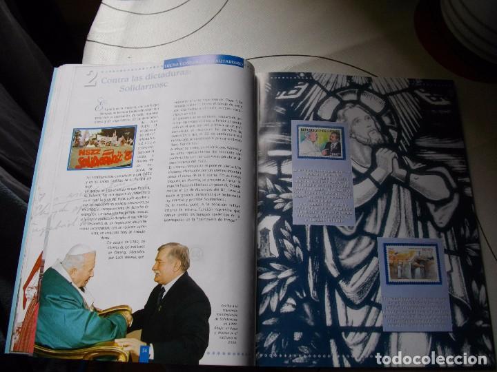 Sellos: JUAN PABLO II, 26 AÑOS DE PONTIFICADO A TRAVES DE LOS SELLOS, ORO Y PLATA COMPLETO VER FOTOS - Foto 22 - 81627684