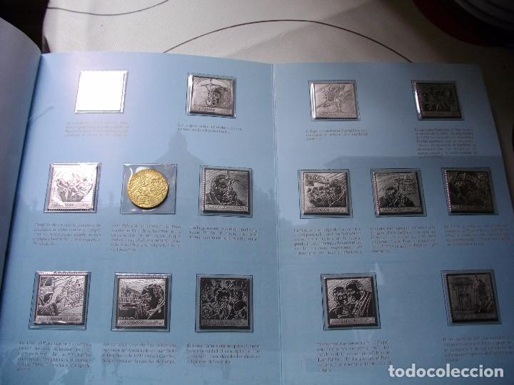 Sellos: JUAN PABLO II, 26 AÑOS DE PONTIFICADO A TRAVES DE LOS SELLOS, ORO Y PLATA COMPLETO VER FOTOS - Foto 37 - 81627684