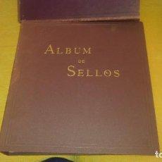 Sellos: ÁLBUM DE SELLOS DEL 2 CENTENARIO CON 93 SELLOS ALGUNOS RAROS Y 109 HOJAS MIREN FOTOS. Lote 171682373