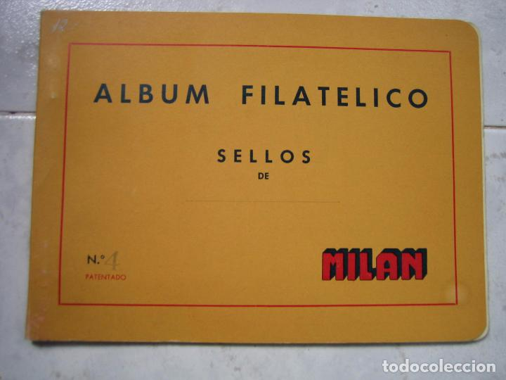 ÁLBUM FILATÉLICO DE SELLOS DE MILAM N 4 (Sellos - Material Filatélico - Álbumes de Sellos)