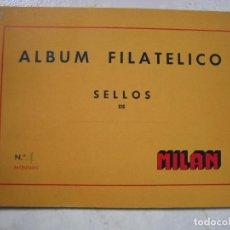 Sellos: ÁLBUM FILATÉLICO DE SELLOS DE MILAM N 4. Lote 87260332