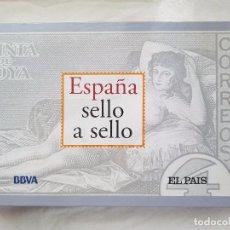 Sellos: ESPAÑA SELLO A SELLO - EL PAÍS-BBVA (COMPLETA EN MUY BUEN ESTADO). Lote 100154975