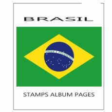 Sellos: BRASIL ALBUM PAGES FILKASOL - 2010-2015 YEAR (NOT STAMPS) + HAWID PROTECTORS. Lote 100754087