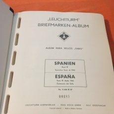 Sellos: ÁLBUM FARO LEUTCHURM SELLOS ESPAÑA 1950 A 1975 TOMO III. Lote 100761556