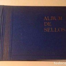 Sellos: ANTIGUO ALBUM DE SELLOS CON MÁS DE 100 SELLOS MUNDIALES PEGADOS - VER FOTOS -. Lote 102443371
