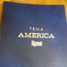 Sellos: ALBUM TEMA AMERICA UPAE CON HOKAS AÑOS 1989-90-91. Lote 102706263