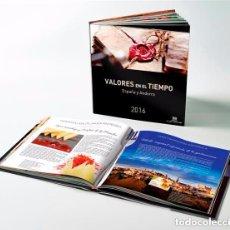 Sellos: ESPAÑA 2016. ALBUM - LIBRO DE CORREOS DE SELLOS DE ESPAÑA Y ANDORRA 2016. SIN SELLOS.. Lote 103635047