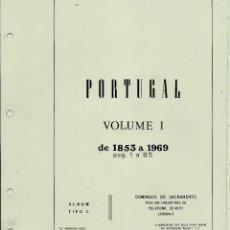 Sellos: ALBUM DE SELLOS PORTUGAL:1853/1997 VOL I-II NUEVOS Y 2ª PARTE POCO USO. CON 3 TAPAS Y 3 CAJETINES. Lote 104822947