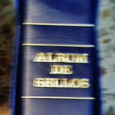 Sellos: TAPAS CON TITULO ESPAÑA (REMOVIBLE) Y ESTUCHE DE FILABO, PARA HOJAS DE 15 ANILLAS, AZULES. Lote 105852343