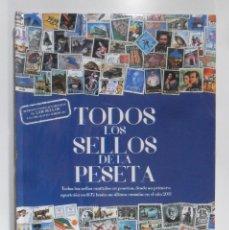 Sellos: TODOS LOS SELLOS DE LA PESETA - ALBUM + 79 LAMINAS SIN PEGAR (2.340 SELLOS)-COMPLETO-TODO PRECINTADO. Lote 111986159