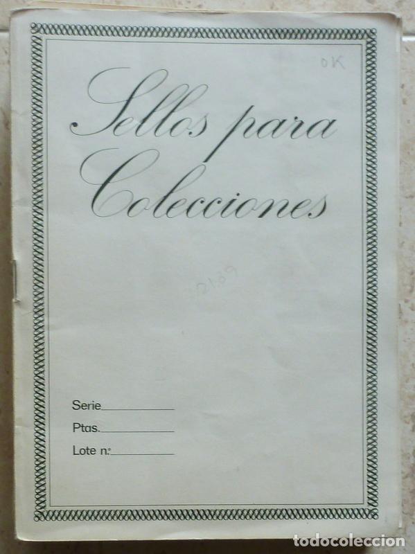 5 CUADERNOS - ARCHIVADORES DE SELLOS- 20 HOJAS (Sellos - Material Filatélico - Álbumes de Sellos)