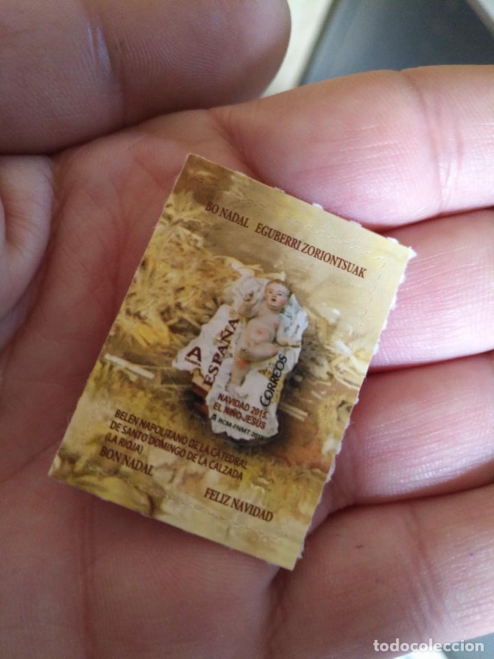 Sellos: tarjeta navidad españa y andorra 2015 no se puede adquirir en correos coleccion navidad 2015 a 2017 - Foto 4 - 112968443