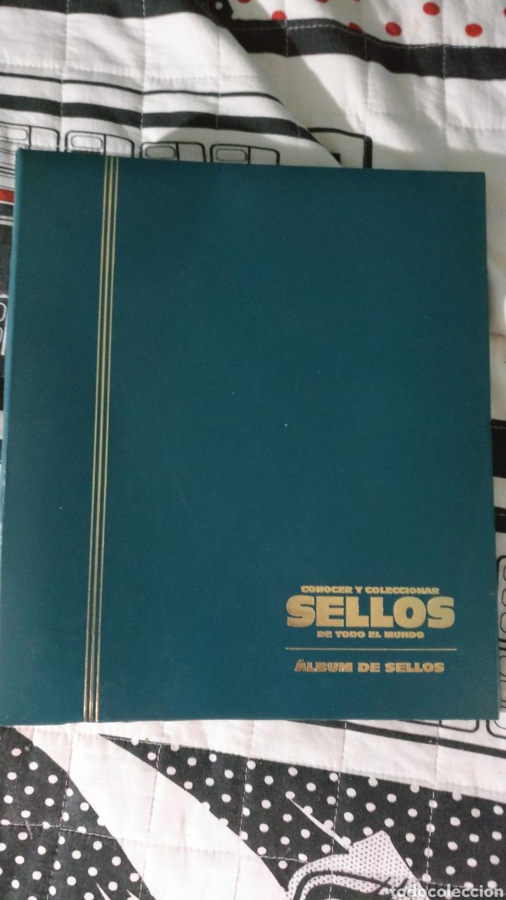 ÁLBUM DE SELLOS (Sellos - Material Filatélico - Álbumes de Sellos)