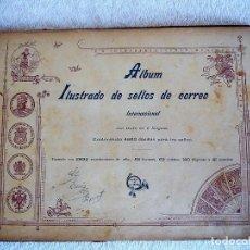 Sellos: ANTIGUO ÁLBUM DE SELLOS INTERNACIONAL. Lote 115581575