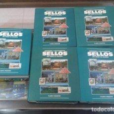 Sellos: SELLOS LOTE NUEVO SIN DESPRECINTAR + DE 1000 SELLOS AUTENTICOS SIN TIMBRAR + 5 ARCHIVADORES 1996 +. Lote 119236219