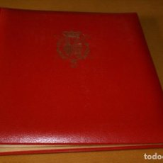 Sellos: ALBUM COMPLETO CON LAS 32 HOJAS BLOQUE DE LA HISTORIA DE CATALUNYA EN HOJAS EDIFIL. Lote 122396799