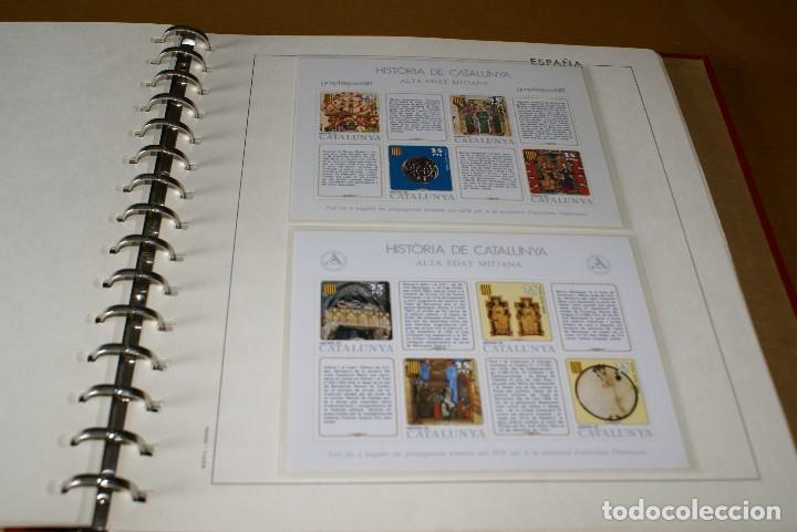 Sellos: ALBUM COMPLETO CON LAS 32 HOJAS BLOQUE DE LA HISTORIA DE CATALUNYA EN HOJAS EDIFIL - Foto 3 - 122396799