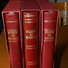 Sellos: COLECCIÓN DE 3 ALBUMS DE SELLOS DE ESPAÑA NUEVOS DEL AÑO 1975 AL 1997 COMPLETOS EN HOJAS DE FILABO. Lote 122397995