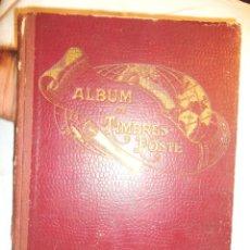Sellos: PETIT ALBUM DE TIMBRES-POSTE YVERT ET TELLIER 1921 DES CINQ PARTIES DU MONDE 7 ED AMIENS TBE. Lote 126168931