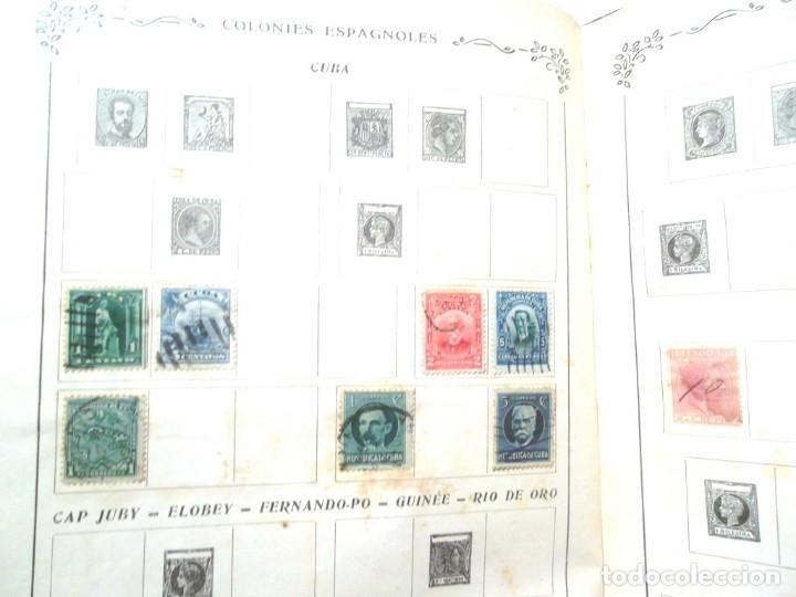 Sellos: Petit Album de timbres-poste Yvert et Tellier 1921 des cinq parties du monde 7 ed Amiens TBE - Foto 2 - 126168931