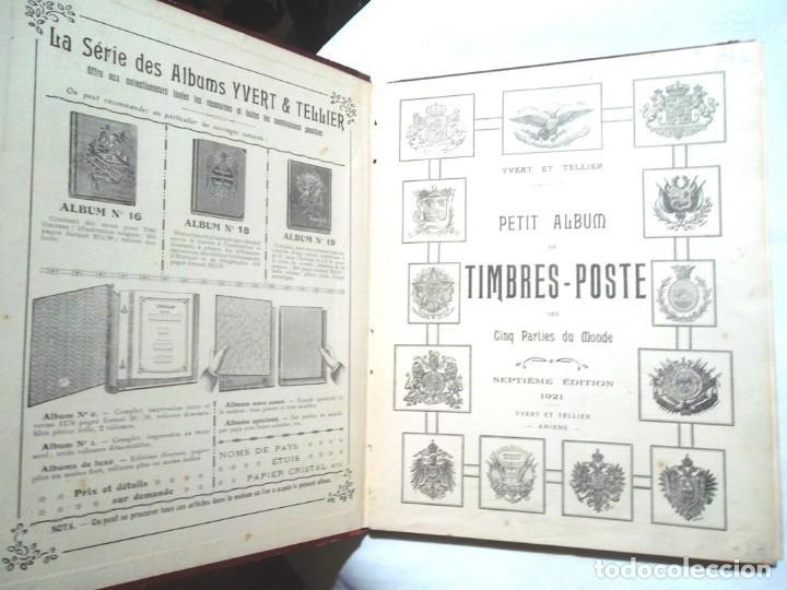 Sellos: Petit Album de timbres-poste Yvert et Tellier 1921 des cinq parties du monde 7 ed Amiens TBE - Foto 4 - 126168931