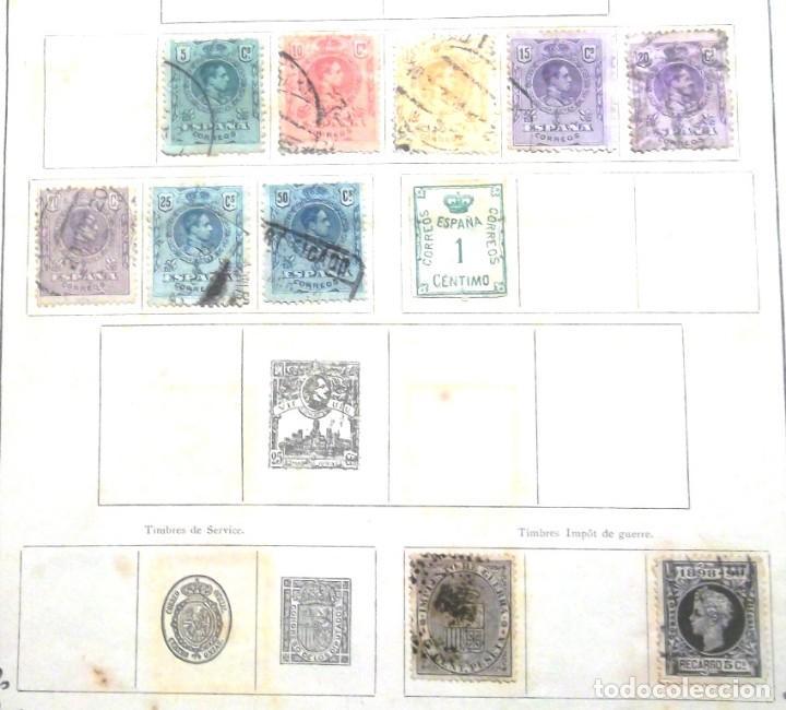 Sellos: Petit Album de timbres-poste Yvert et Tellier 1921 des cinq parties du monde 7 ed Amiens TBE - Foto 6 - 126168931