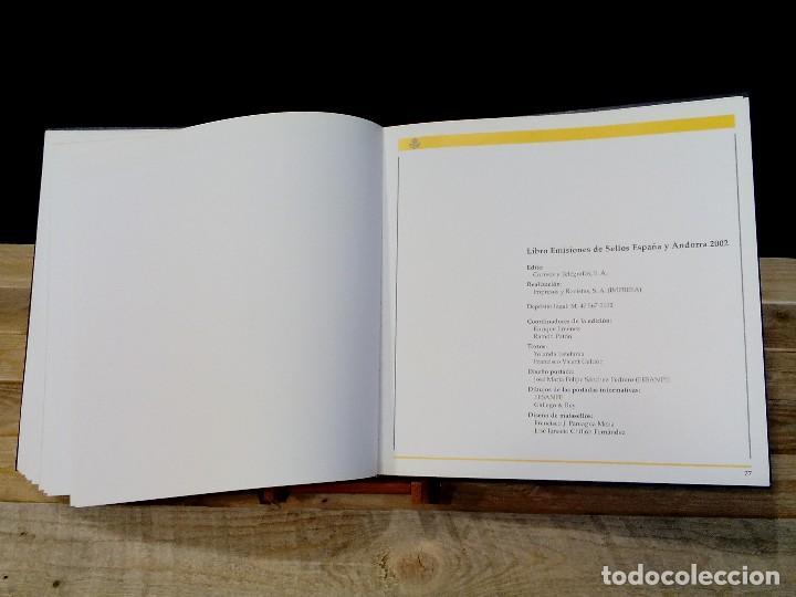 Sellos: EMISIONES DE SELLOS EDIFIL ESPAÑA-ANDORRA. (2002). - ALBÚM COMPLETO. (40 FOTOGRAFÍAS). - Foto 39 - 128476351