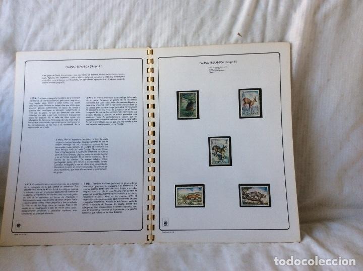 Sellos: Album sellos Fauna Hispana...sellos 1971-1983 - Foto 3 - 132358266