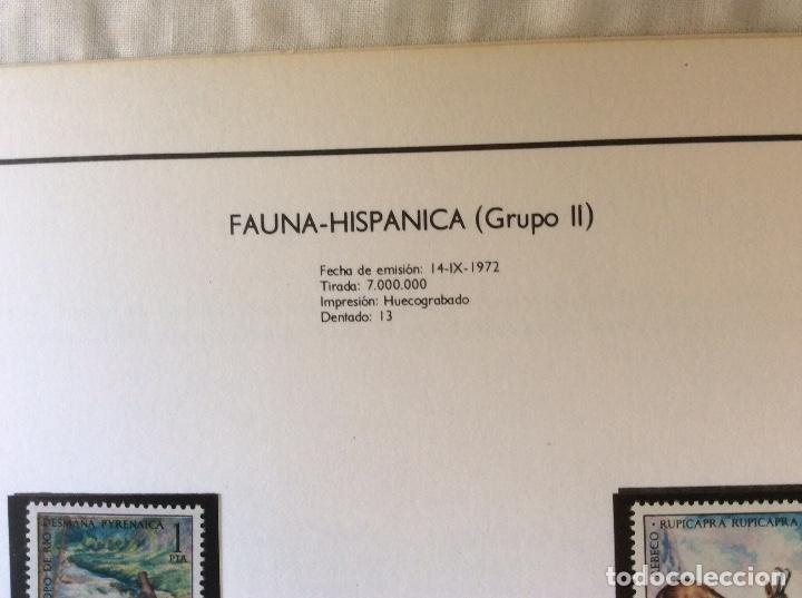 Sellos: Album sellos Fauna Hispana...sellos 1971-1983 - Foto 4 - 132358266